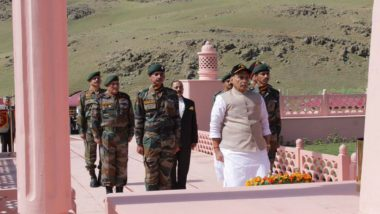 Will Do Best to Ensure No Harm Comes to Pride and Honour of Our Jawans, Says Rajnath Singh