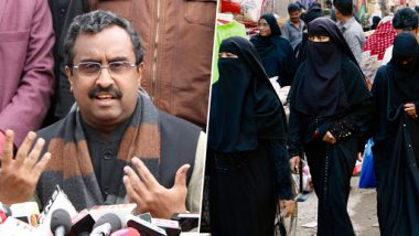 Ram Madhav Mocks Opposition After Triple Talaq Bill Passed in Rajya Sabha, Says 'Support Good Work of Modi ji or Remain Absent'