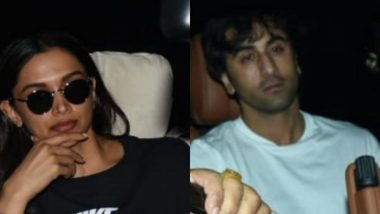 Is It Indeed Happening? Deepika Padukone And Ranbir Kapoor Spotted Together Outside Luv Ranjan's Office - View Pics