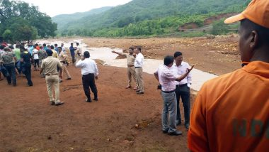 Tiware Dam Breach: 16 Bodies Recovered, 10 Still Missing After Dam Water Causes Flood in Villages in Ratnagiri
