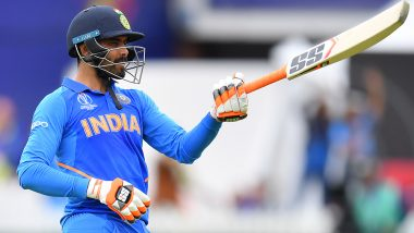 Ravindra Jadeja Posts a Heartfelt Note to Fans After India's Ouster From ICC Cricket World Cup 2019