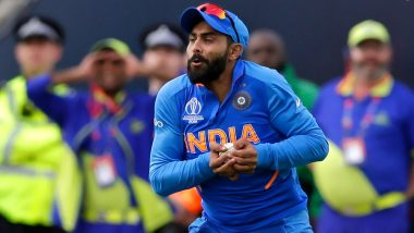 Ravindra Jadeja Was 'Inconsolable' After India's 18-Run Loss to New Zealand in CWC 2019 Semi Final, Reveals Cricketer's Wife Rivaba Solanki