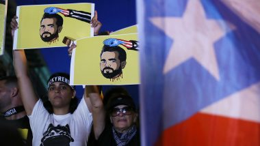 Puerto Rico Governor Ricardo Rossello Resigns in Leaked Private Chat Case
