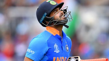 Rishabh Pant Leaves Fans Disappointed As He Throws Away Another Promising Start During IND vs NZ Semi-Final Encounter in CWC 2019