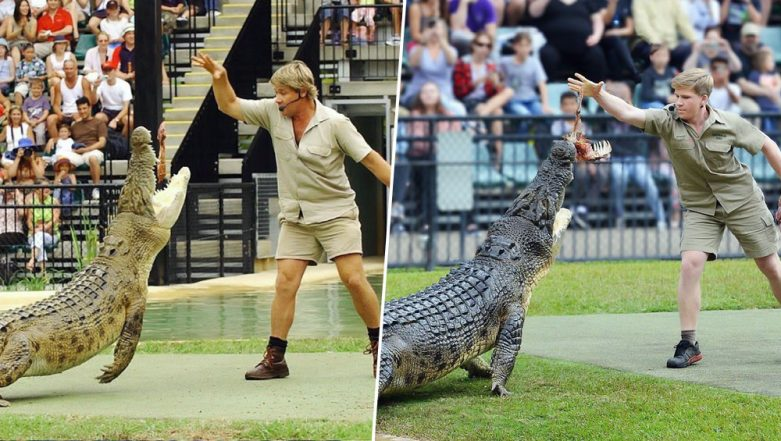 Steve Irwin's Son Robert Recreates 15-Year-Old Memory of The Crocodile Hunter and People Can't Stop Their Happy Tears (View Pic)