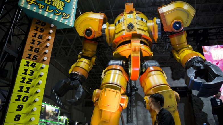 Robots to Welcome Visitors and Help to Transport Javelins During Tokyo Olympics 2020 in Japan
