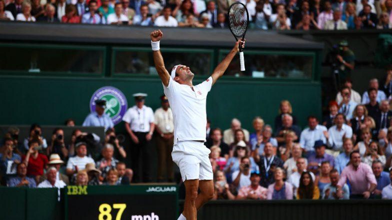 Roger Federer Beats Rafael Nadal to Reach 12th Wimbledon Final, Swiss Great to Face Novak Djokovic For Record 9th Wimbledon Trophy