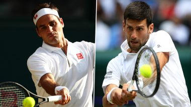 Novak Djokovic vs Roger Federer, ATP Finals 2019 Live Streaming & Match Time in IST: Get Telecast & Free Online Stream Details of Group Stage Match in India