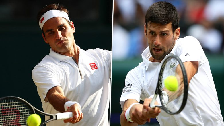 Novak Djokovic vs Roger Federer: 5 Interesting Facts Ahead of Wimbledon 2019 Men's Singles Final
