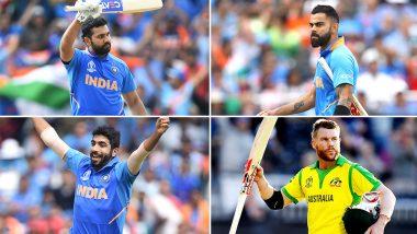 ICC Team of Tournament: Rohit Sharma, Jasprit Bumrah Make it to ICC Dream Team of World Cup 2019, David Warner, Virat Kohli Miss Out