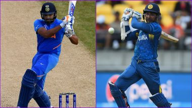 Most Hundreds in Single World Cup Tournament: Rohit Sharma Equals Kumara Sangakkara's Most Centuries Record