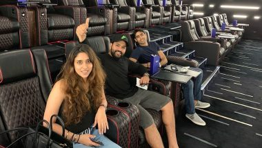 Rohit Sharma and Wife Ritika Sajdeh Watch The Lion King Movie, Indian Cricketer Posts Picture on Instagram (See Pic)