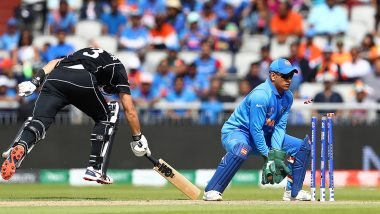 #SirJadeja And 'Bits And Pieces' Among Top Twitter Trends As Ravindra Jadeja Dismisses Ross Taylor With A Direct Throw During IND vs NZ, ICC CWC 2019 Semi-Final Match; Watch Video