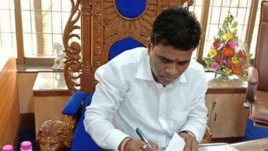 Vasai-Virar Mayor Rupesh Jadhav Resigns To Focus on Maharashtra Assembly Elections 2019