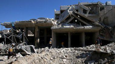 Russian Air Strike On Syria Market Kills 19 in Rebel-Held Town