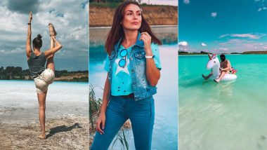 Turquoise Lake in Siberia a Hit Among Instagrammers But Power Plant Says It's Toxic And Dangerous