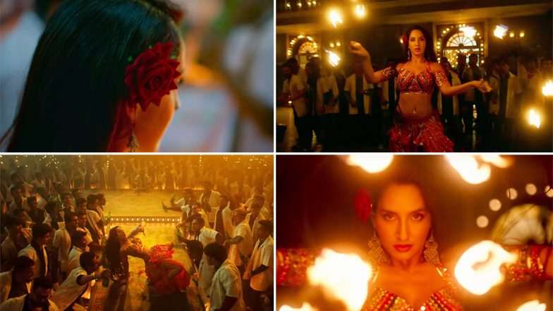 Batla House Song O Saki Saki Teaser: Nora Fatehi, John Abraham, Neha Kakkar and Tanishk Bagchi Team Up Again to Recreate the Dilbar Magic – Watch Video