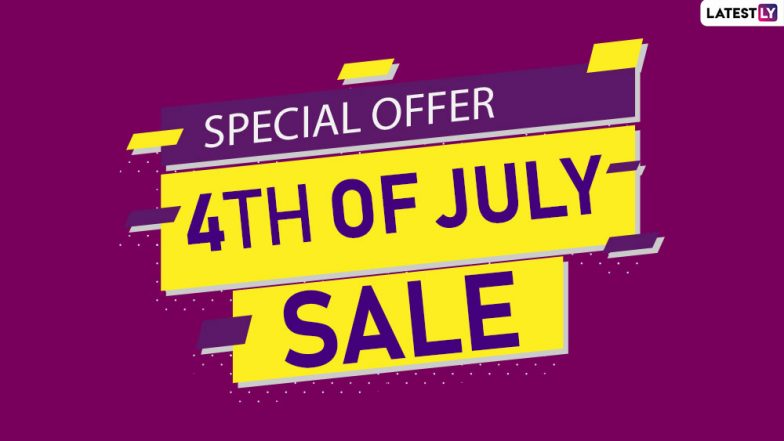 Fourth of July 2019 Sale: Discounts & Deals on Smart TVs, Smartphones, Tablets, Smart Home Devices & Other Electronics Online