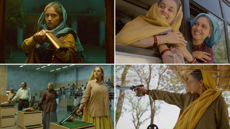 Saand Ki Aankh Teaser Video: Taapsee Pannu and Bhumi Pednekar's Badass Avatar as Sharpshooters Gets Hailed by Netizens
