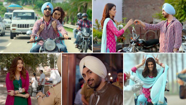 Arjun Patiala Song Sachiya Mohabbatan Video: Diljit Dosanjh and Kriti Sanon's Adorable Chemistry Is Refreshing in This Soothing Romantic Track