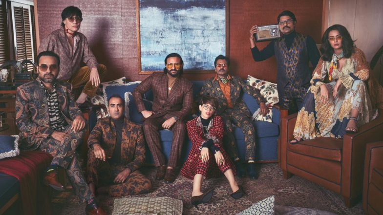 Sacred Games 2: Sartaj Singh and Ganesh Gaitonde Share a Couch as Saif Ali Khan, Nawazuddin Come Together for a Rare Picture With the Cast of the Show