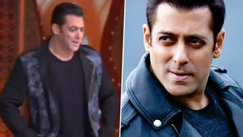 Nach Baliye 9 or Bigg Boss 13? This Video of Salman Khan From the Sets Is Going Viral (Watch Video)