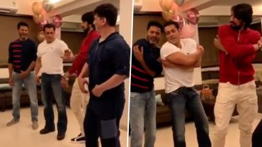 Salman Khan Shakes Leg With Prabhudheva in His Iconic Song Urvasi - Watch Video