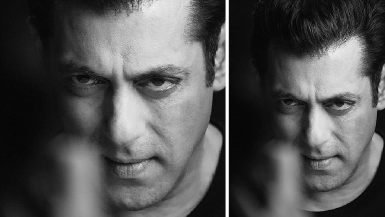 Salman Khan Talks About Morals and Principles in His New Post But it is His Monochrome Picture that Makes the Deepest Impact - View Pic