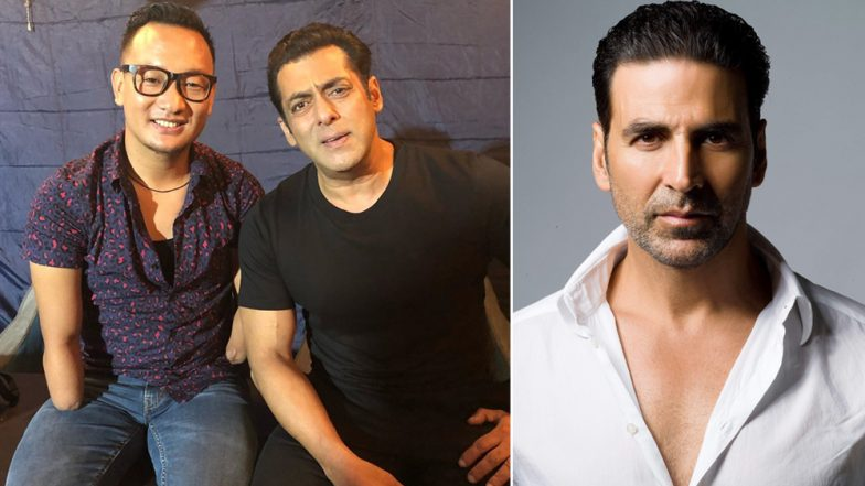 Akshay Kumar Fans Viciously Troll Salman Khan After He Posts an Inspirational Video With Ex Indian Idol Contestant Thupten Tsering