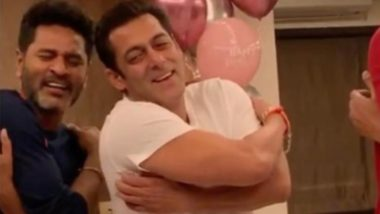 Salman Khan Takes Dancing Lessons From His Dabangg 3 Director Prabhu Dheva And It's Absolutely Hilarious - Watch Video