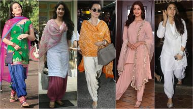 Sara Ali Khan and Janhvi Kapoor Prove that the Salwar Kameez Look Is Forever in Vogue