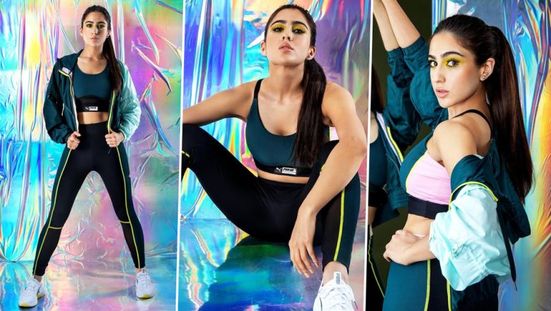 Sara Ali Khan's Latest Photoshoot Is Sporty, Sexy and Vibrant! View Pics