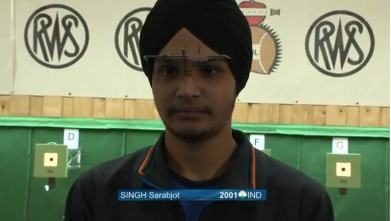 Sarabjot Singh Wins Gold Medal in 10m Air Pistol Event at ISSF Junior World Cup 2019, Takes India's Medal Tally to 22