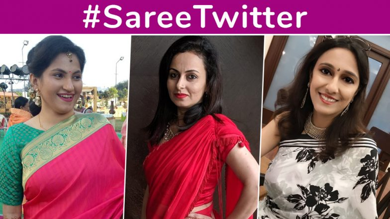 As #SareeTwitter Trends on Twitter, Women Share Pics of Themselves Draped in a Sari