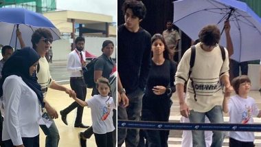 Shah Rukh Khan Takes His Kids Aryan, Suhana and AbRam to Maldives For Vacation and We Can't Wait For More Pics!