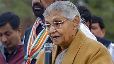 Sheila Dikshit Passes Away: Virender Sehwag, Gautam Gambhir & Other Sportspersons Offer Condolences to Former Delhi Chief Minister