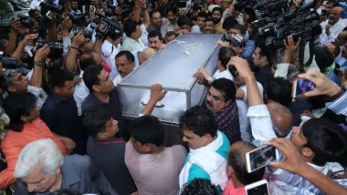 Sheila Dikshit Funeral Live Streaming: Watch Online Telecast of Former Delhi CM's Final Journey And Last Rites on News18, Times Now, DD News, ABP And Other News Channels