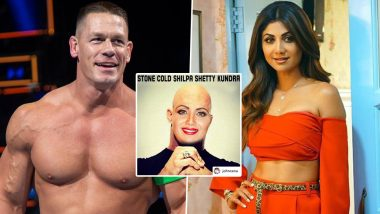 John Cena and Shilpa Shetty Kundra's Social Media Exchange Is Sure to Crack You Up – View Meme