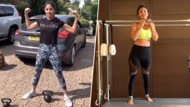 Shilpa Shetty Workout and Diet: Here's the Fitness Secret Behind Bollywood Diva's Hot and Sculpted Body (Watch Videos)