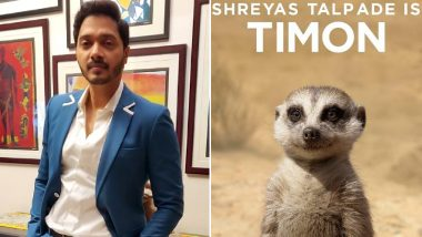 Shreyas Talpade Reveals the Reason Why He Did The Lion King and It's Super Adorable