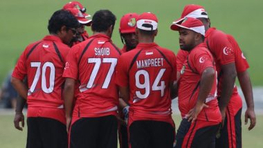 Live Cricket Streaming of Namibia vs Singapore, ICC T20 World Cup Qualifier 2019 Match on Hotstar: Check Live Cricket Score, Watch Free Telecast of NAM vs SIN on TV and Online