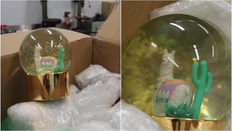 7.5 Litres of Liquid Meth Worth USD 1 Million Seized Seized From Toy Snow Globes in Sydney! (Watch Video)