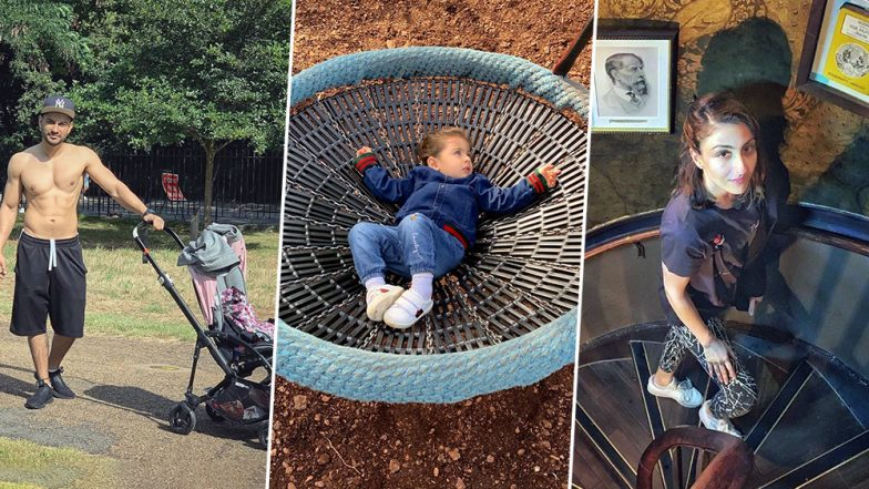 Kunal Kemmu, Soha Ali Khan and Inaaya Naumi Kemmu's London Vacation Is Family Goals! View Pics