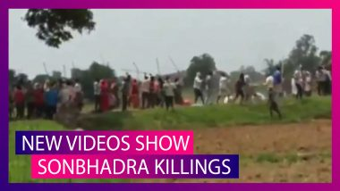 Sonbhadra Killings: Fresh Cell Phone Footage Shows How Attack Took Place in UP Village