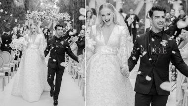 Sophie Turner and Joe Jonas' First Wedding Pics OUT! The Game Of Thrones Actress Looked Beautiful Beyond Words as a Bride!