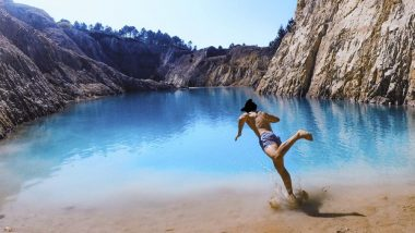 Instagrammers Fall Sick After Dipping in Spain's Lake Monte Neme, As The Turquoise-Coloured Popular Tourist Spot is Toxic!
