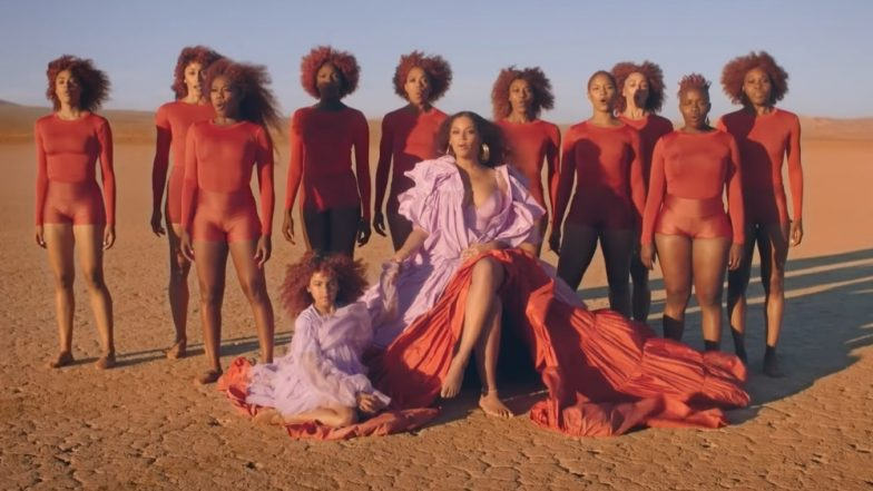 Spirit Official Music Video: Beyoncé And Daughter Blue Ivy-Carter Look Like Royals In Disney's The Lion King Track