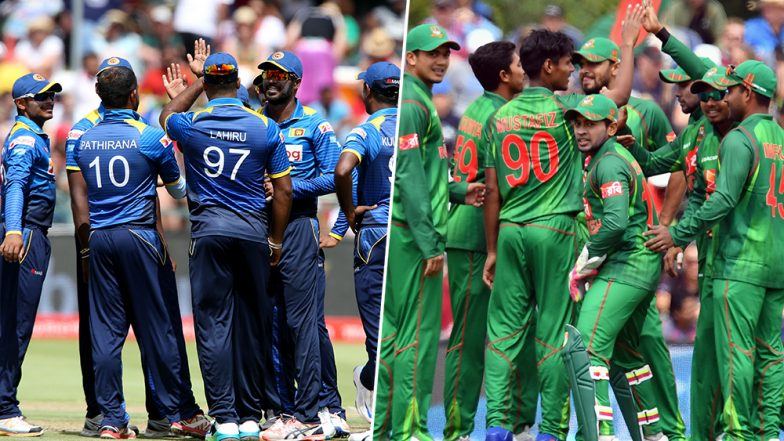 Live Cricket Streaming of Sri Lanka vs Bangladesh ODI Series 2019 on SonyLIV: Check Live Cricket Score, Watch Free Telecast of SL vs BAN 3rd ODI on Gazi TV and Online