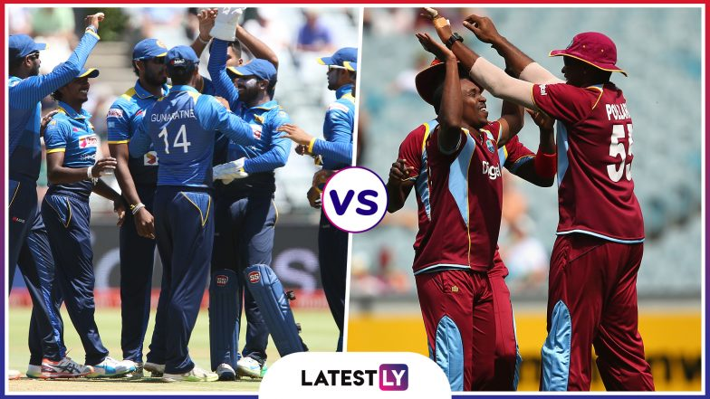 Sri Lanka vs West Indies, 1st ODI 2020 Live Streaming Online: Get Free Telecast Details of SL vs WI on TV With Match Time in India