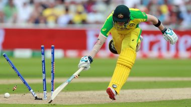 Steve Smith Misses Century! Jos Buttler's Direct Throw Ends his Knock During  AUS vs ENG CWC 2019 Semi-Final 2, Watch Video
